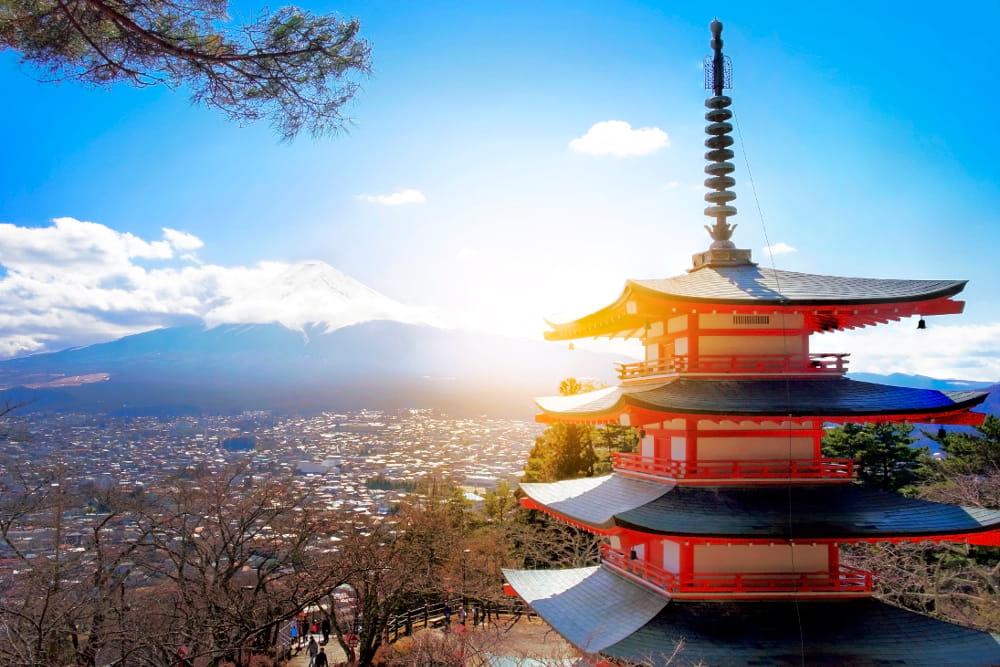 Boas notícias de 2020 para renovar as esperanças: monte Fuji.