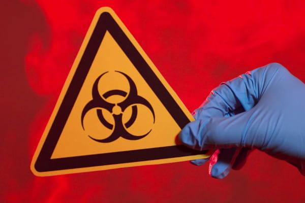 O que é o Mapa de Risco?: imagem demonstrando risco químico.