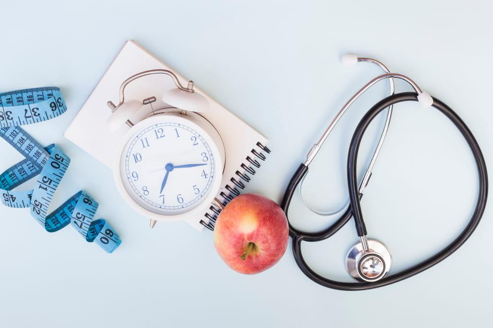 Promoção de saúde no trabalho: instrumentos médicos.