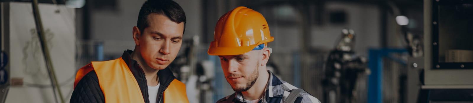 Técnico de segurança do trabalho: equipamentos de proteção.